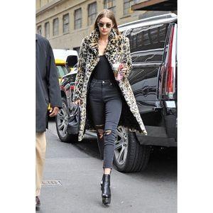 Majorelle Fifi Faux Fur Coat in Leopard